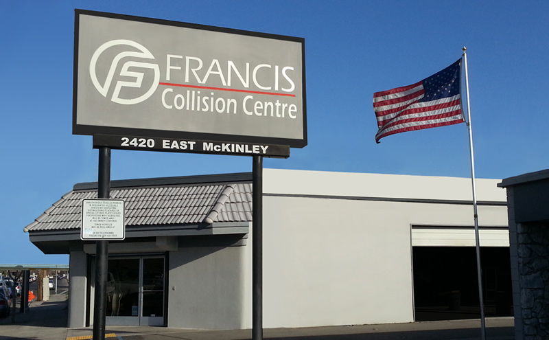 francis collision centre